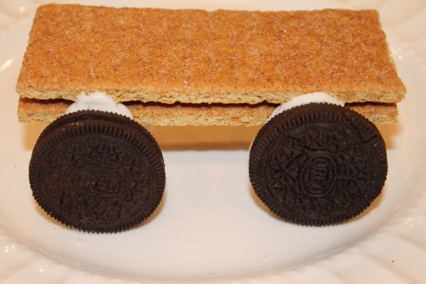 Oreo's make the tastiest wheels!