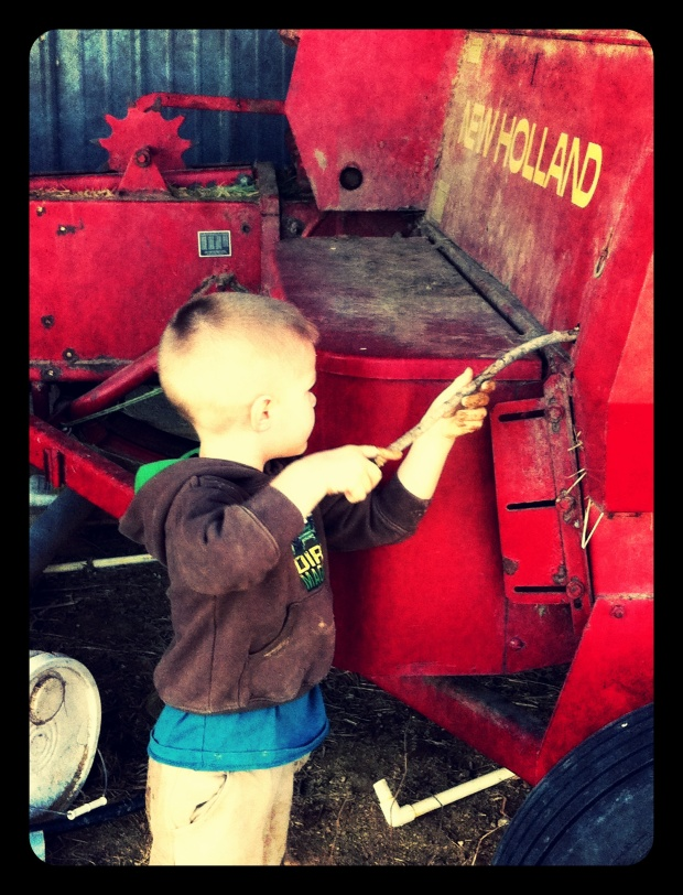 Tuning Daddy's tractor